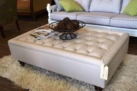 fashionable fabric ottoman coffee table ottoman target