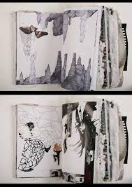 creative sketchbook by fashion designer ania leike the