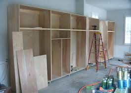 garage cabinets diy wood building storage plans