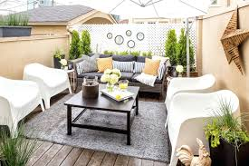 small balcony furniture. Small Balcony Furniture Patio Design With White Modern Chairs And Square Black Coffee Table On Grey S