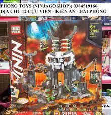 Chính hãng] Lắp ráp xếp hình Lego Ninjago Season 13 MOVIES 71722 PRCK 61066  : Đảo người xương của chiến binh
