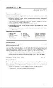 Med Surg Nurse Sample Resume Med Surg Nurse Resume Sample Staff Nursing Resume Two Pages 1