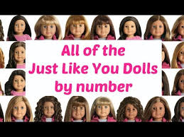 23 Reasonable Visual Chart Of Truly Me Dolls