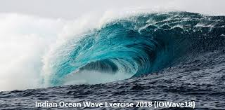 Even if there had been here is a translation from google translate: Tsunami Mock Drill Iowave18 Begins India Along With 23 Countries Participates In Exercise