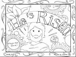Sunday School Coloring Pages Cool Image Jesus Is Risen Coloring