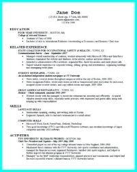 Sample Resumes For Recent College Graduates Luxury Resume Recent