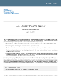 information statement