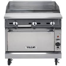 gas range with griddle top. Beautiful With Vulcan VGM36SNAT V Series Natural Gas 36 To Range With Griddle Top G