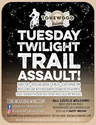 Dustin Mason is back on the trails this... - Tonewood Brewing | Facebook