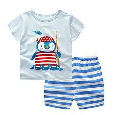 Preemie Baby Clothes Size Chart Amazon Com Little Pajamas Dolphin Pajamas Girls Summer Boys