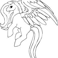 Pegasus Coloring Pages Pegasus Coloring Pages Easy Coiffurehommeinfo