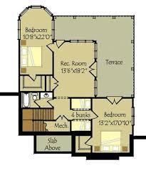 plans 2 bedroom walkout basement floor plan for small houses
