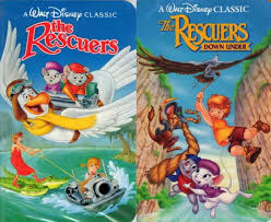 Image result for RESCUERS two films
