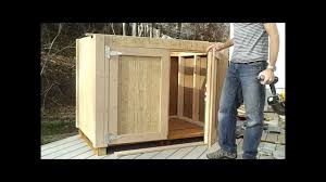 Double Shed Door Design 8 How To Hang Shed Doors How To Build A Generator Enclosure