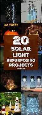Homemade Solar Lights 20 Solar Light Repurposing Ideas To Brighten Up Your Outdoors