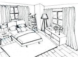 interior design bedroom sketches. Interior Designs Sketches Bedroom Design Image Ideas  Drawing Apps For Ipad . N