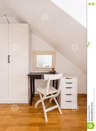 Light Bedroom Furniture Simple Bedroom Furniture In Light Interior Stock Photo Image