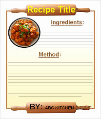 Recipe Page Layout Cookbook Template For Mac Fresh Make Your Own Cookbook Template