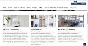 Cabinet Design Website Design Interventions Cabinet Company Website