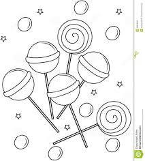 Coloring Pages Staggering Free Lollipop Coloring Pages Image