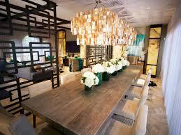 rectangular dining room lights. Modern Kitchen Decoration With Capiz Chandelier Plus Rectangular Dining Table Recessed Lighting Ideas Room Lights C