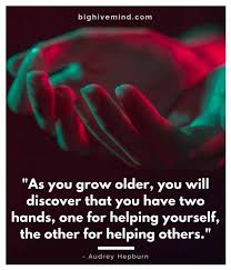 40 Top Quotes About Helping Others Big Hive Mind Simple Quotes About Helping Others
