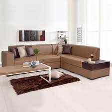 alden leatherette l shape sofa right tan brown has been added to your wishlist already exists in your wishlist