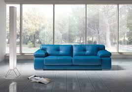 blue leather sofa set vgnt sp santer