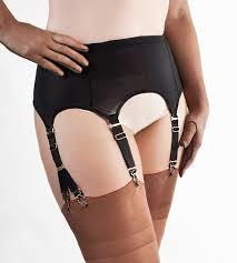 Fetish garter belt and nylons