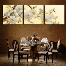 white orchid flower painting 3 panel modern canvas wall art cuadros flowers picture for living room  on 3 panel wall art flowers with white orchid flower painting 3 panel modern canvas wall art cuadros