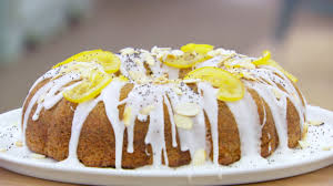 Lemon And Poppy Seed Drizzle Cake Great British Baking Show Pbs Food