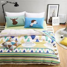 whole the eiffel tower bedding cold beer chartreuse striped bedclothes 100 cotton twill sheet set twin queen duvet cover full duvet king from