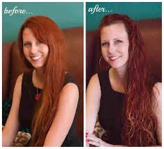 is beast rhca beforeafter wavy hair deva curl pictures