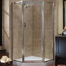 framed neo angle shower door