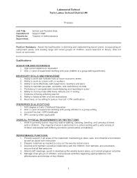 Childcare Resume Cover Letter Teaching Cover Letter Daycare