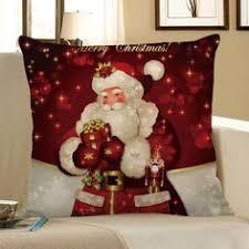 <b>4PCS Merry Christmas</b> Bell Ball Printed Pillow Cover   Holidays ...