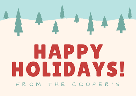 Happy Holiday Card Templates Free Online Card Maker Create Custom Designs Online Canva