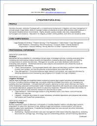 Litigation Paralegal Job Description New Resume Litigation