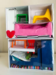 dolls house furniture ikea. This Has To Be One Of The Simplest IKEA Hacks Ever! Simply Put House Together As Per Instructions And Use It A Display Shelf! Perfect. Dolls Furniture Ikea
