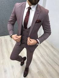 Slim Fit Suits Designer Hudson Claret Red Slim Fit Suit Designer Suits For Men