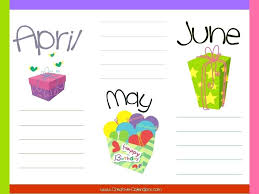 Monthly Birthday Calendar Template Excel Examples Free Luxury ...