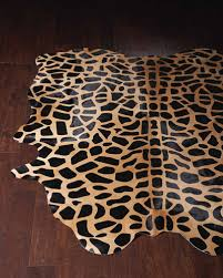 jani giraffe print rug 5 x 7