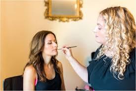 heather van houten makeup artist tucson arizona weddings applying makeup