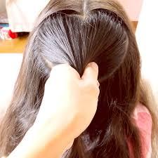 時間がないときのハートヘアアレンジ Plecione Włosy こども ヘア