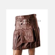 modern men leather kilt