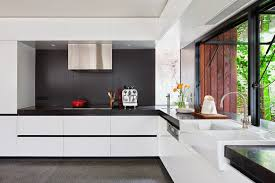 Modern Kitchen In Old House Rehabilitation Of An Old House With A Modern Look In Melbourne