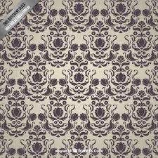 Damask Pattern Free Vintage Damask Pattern Vector Free Download