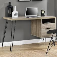 Slim Computer Desk Tables Witching Tristan Computer Desk Manufactured Wood With