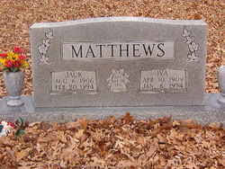 Iva Lee Smith Matthews (1909-1994) - Find A Grave Memorial