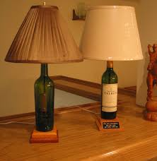 Glass Bottle Lamps 4 Easy Steps To Creating A Unique Wine Bottle Lamp 6 Steps With